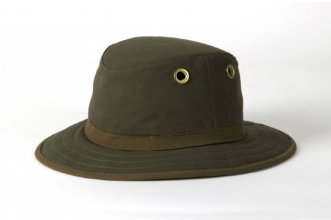 Tilley Unisex TWC7 Outback Waxed Cotton Brim Hat - UPF 50